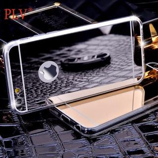 Capa iPhone 6/5s/5s Espelhada Prata Capinha Silicone iPhone