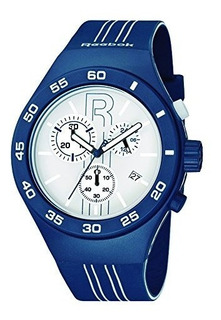 Reebok Icon Rush Chrono Reloj Deportivo Para Hombre Azul Med