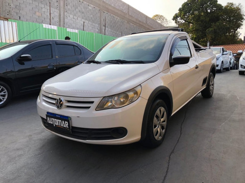 Imagem 1 de 10 de Volkswagen Saveiro 1.6 Cab. Simples Total Flex 2p