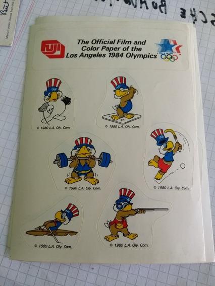 Vintage 1984 Pegatinas De Los Juegos Olímpicos De Los Ángele