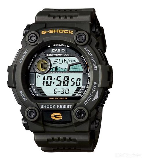 Relogio Casio G-shock G-7900-3d Alar Marés Fases Lua Wr 200m