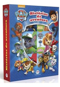 Livro Patrulha Canina - Histórias De Aventura Kit 6 Livros