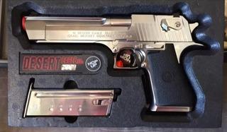Airsoft Pistola Tokyo Marui Desert Eagle Chrome Blowback Gbb