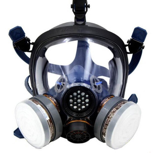 Organic Vapor Pintura Respirador De Cara Completa Protección