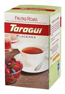 Té Taragüi Placeres Frutas Rojas
