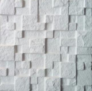 1 Forma De Abs Para Cimentício E Gesso 3d; Mosaico São Tomé