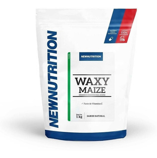 Waxy Maize 1 Kg Refil - Carboidrato / Vitamina C / Carb - Suplemento Alimentar Em Pó De Amido De Milho - Newnutrition