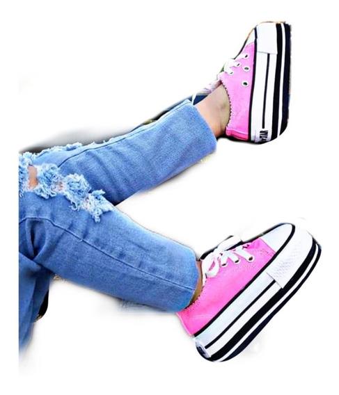 Zapatillas Glitter Brillos Moda Mujer Dama Niña Promocion