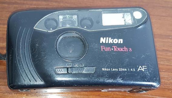 Câmera Analógica - Nikon - Fun Touch 3