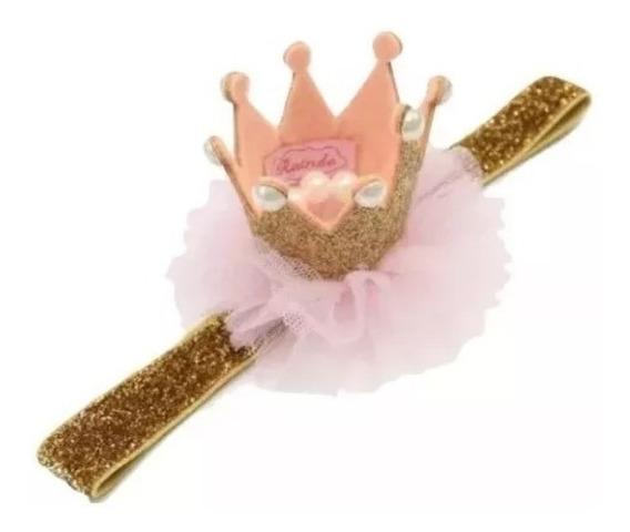 Corona Diadema Para Niña Primera Sesión De Fotos,niña