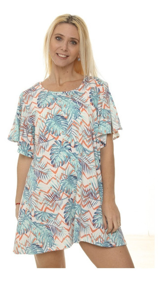 Vestido Corto De Playa Mujer Tipo A 2908