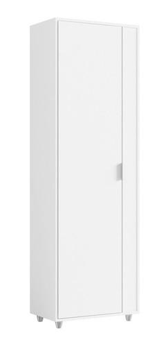 Armário Multiuso 1 Portas Unique Branco - Caemmun