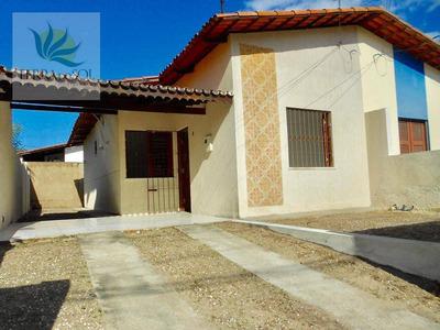 Casa Plana Em Condomínio Fechado Na Lagoa Redonda. - Ca0773