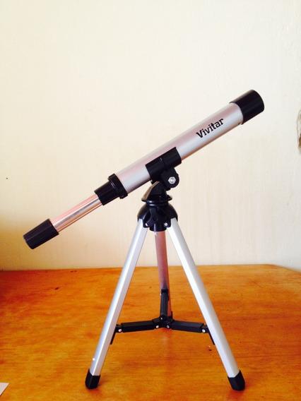 Telescópio / Vivitar Alumínio F30030m 12x P/ Entrega
