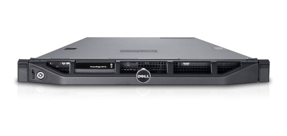 Dell Servidor Poweredge R210 Ii Rack 1u 19 16 Giga 2 Tera