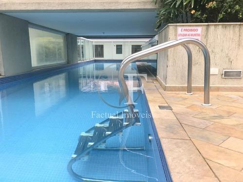 Apartamento Com 3 Dormitórios À Venda, 96 M² - Pitangueiras - Guarujá/sp - Ap9878