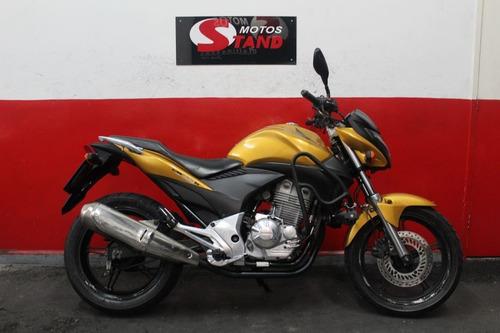Honda Cb 300 R 300r Cb300r 2010 Amarela Amarelo