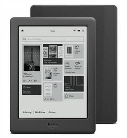 Leitor E-book Reader 6 Kobo Touch 2.0 4gb E Wifi
