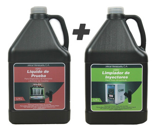 Liquido Limpieza Inyectores + Prueba Jekcar Promogemelos