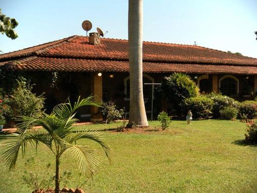 Chácara Com 4 Dormitórios À Venda, 5000 M² Por R$ 1.200.000,00 - Jardim Dos Lagos - Itatiba/sp - Ch0109