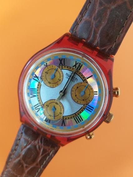 Relógio Swatch, Cronômetro, Vintage, Old School, Style