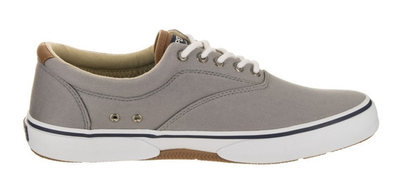 Tenis Sperry Hombre Gris Halyard Cvo Casual Sts14137