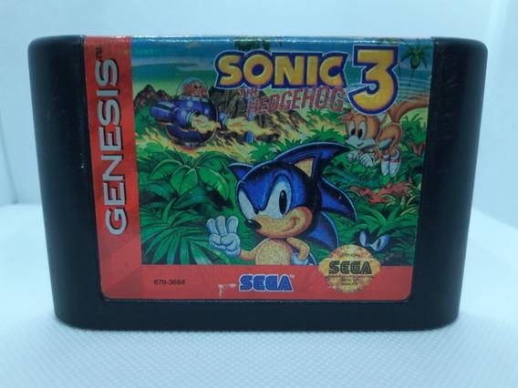 Sonic The Hedgehog 3 Original Sega Mega Drive Genesis A