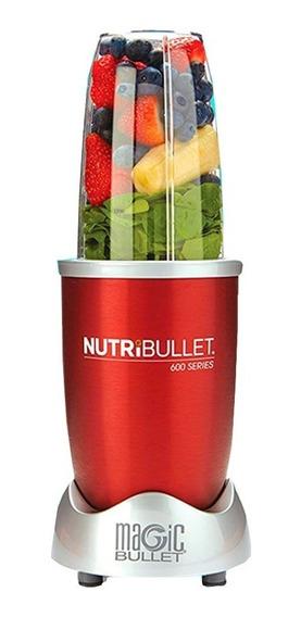 Nutribullet 600w 8 Accesorios Rojo