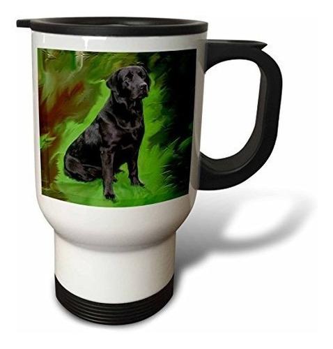 Perros Labrador Retriever  Negro Labrador Retriever  Taza
