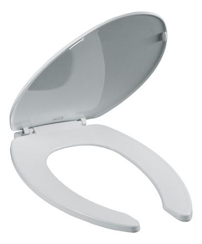 Imagen 1 de 3 de Asiento Alargado De Plástico Bemis Para Wc Blanco