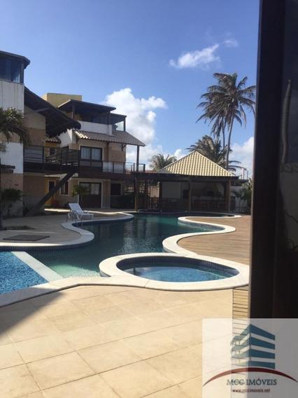Casa Em Condomínio Fechado Beira Mar A Venda Em Genipabu
