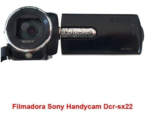 Câmera Sony Handycam Dcr-sx22 (problema No Lcd)