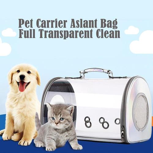 Porta Mascota Bolso Panoramico Perros Gatos 42x27x33cm P202