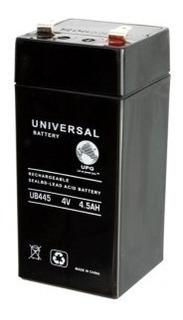 Bateria Seca 4v 4.5ah Recargable Sellada Libre Mantenimiento