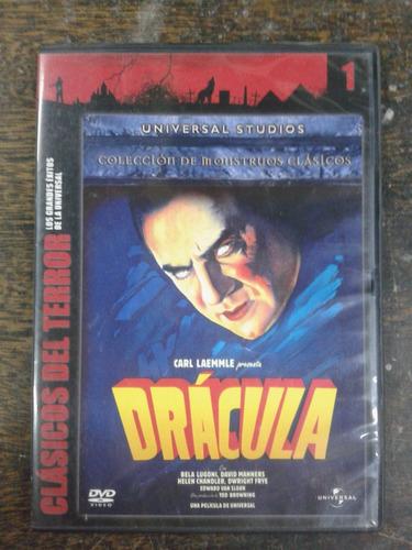 Imagen 1 de 4 de Dracula * Bela Lugosi * Clasicos Del Terror * Dvd *