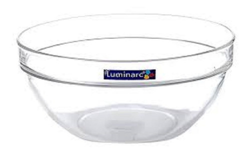 Ensaladera Bowl De Vidrio Apilable Luminarc 17cm