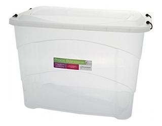 Organizador De Brinquedos Roupas Container Multiuso 90l Box