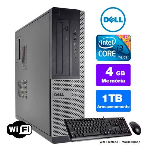 Cpu Barato Dell Optiplex Int I3 2g 4gb 1tb Brinde