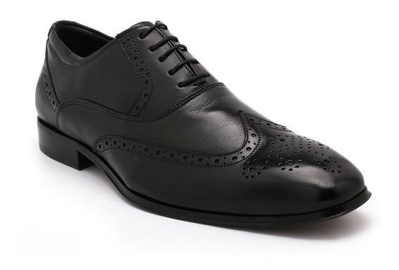 Sapato Oxford Jota Pe Couro Preto 50121