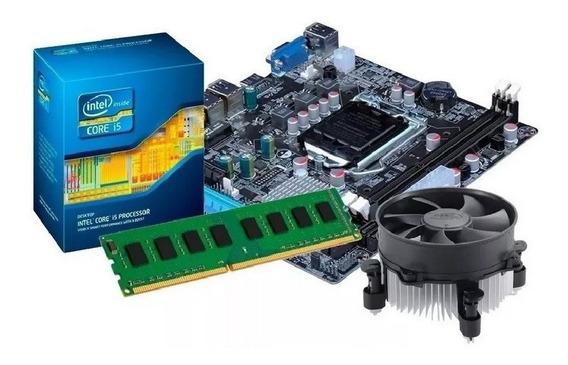Kit Processador I5 -3470s + Placa Mãe H61 + 4gb Ddr3