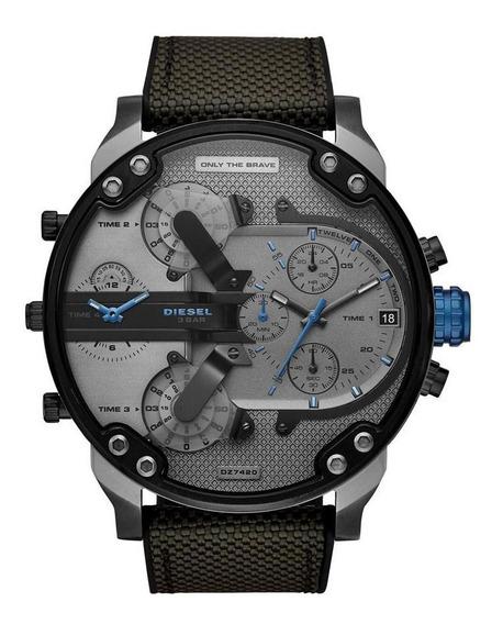 Relógio Diesel Mr Daddy Masculino Cinza Dz7420/8cn