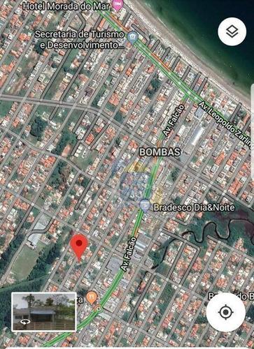 Excelente Terreno Em Bombas - Te0073