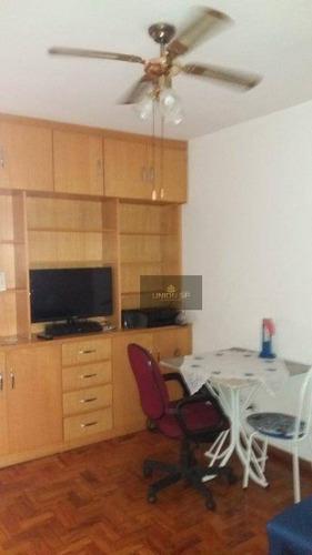 Apartamento Com 1 Dormitório À Venda, 50 M² Por R$ 275.600,00 - Santa Cecília - São Paulo/sp - Ap38968