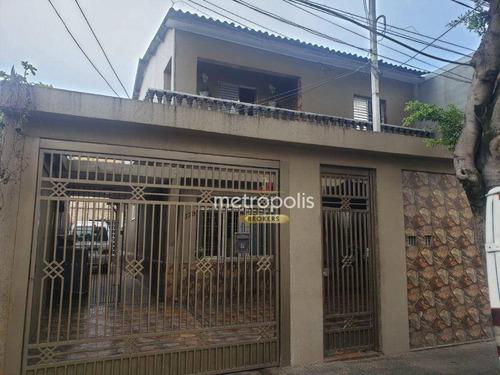 Imagem 1 de 30 de Sobrado Com 5 Dormitórios À Venda, 288 M² Por R$ 1.100.000,00 - Fundação - São Caetano Do Sul/sp - So1499