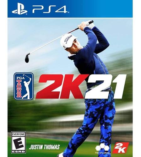 Ps4 Pga Tour 2k21 / Golf / Fisico