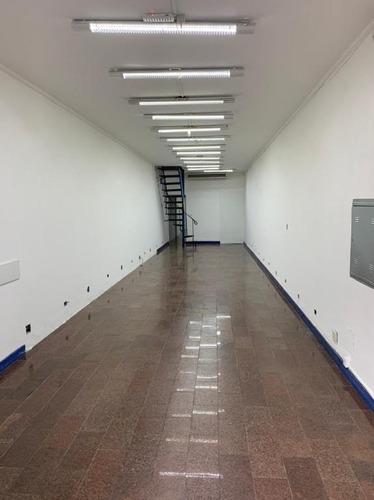 Salão Para Alugar, 200 M² Por R$ 4.500,00/mês - Vila Gomes Cardim - São Paulo/sp - Sl0126