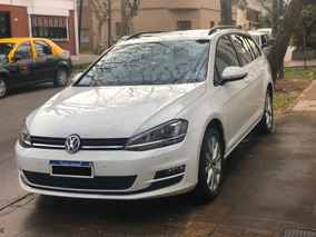 Vw Golf Variant 1.4tsi Highline Dsg, 2017, Nueva, Blanca