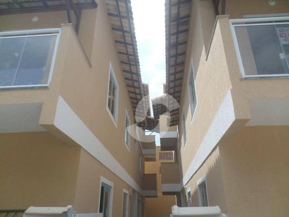 Casa (1ª Locação - 2 Lances De Escadas) De 2 Quartos, Na Parada 40, Em São Gonçalo. - Ca1624