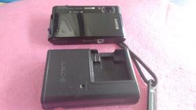 Câmera Digital Sony Lente Carl Zeiss 12.1 Megapx, Carregado