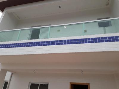 Casa Em Tude Bastos (sítio Do Campo), Praia Grande/sp De 72m² 2 Quartos À Venda Por R$ 270.000,00 - Ca202347